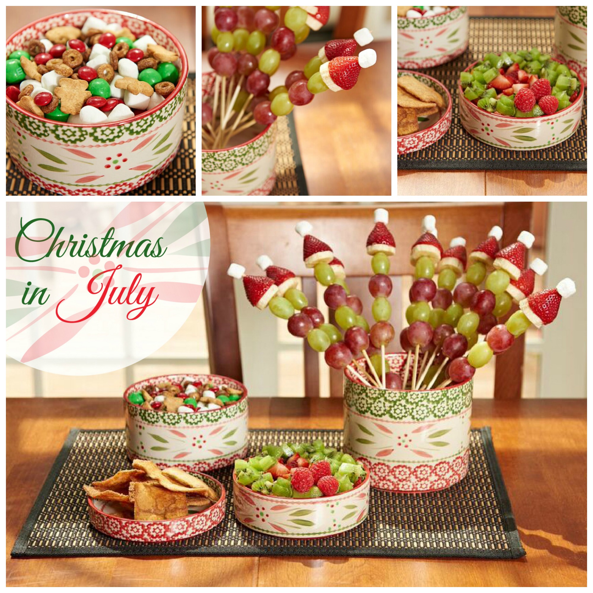 The best of all seasons christmas in july temp tations for Christmas in july party ideas
