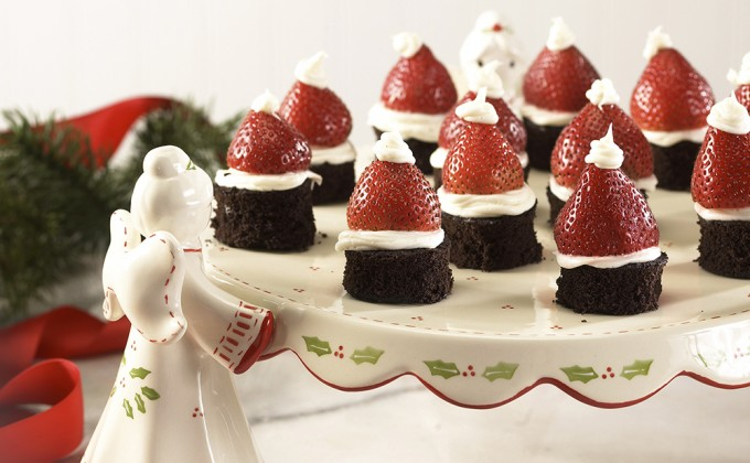 Brownie Santa Hat 2