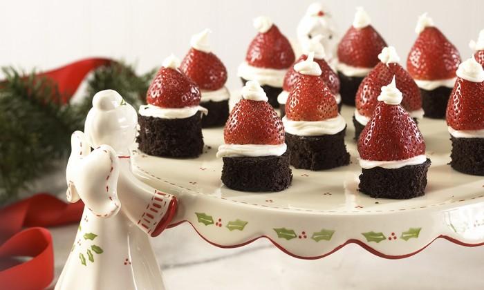 Brownie Santa Hat 2