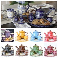 temp-tations® Floral Lace 4-pc. Tea Set