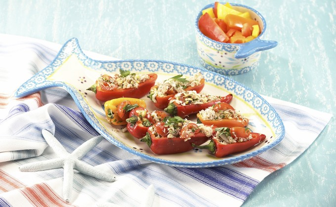 Crab Stuffed Peppers