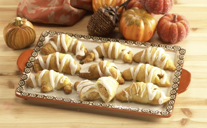 Pumpkin Crescents